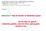 annonce demarches